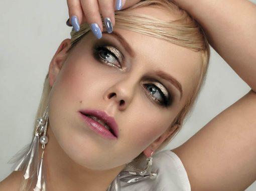 """Mój makijaż i fryzura w edytorialu """"Sparkling state of mind"""""""